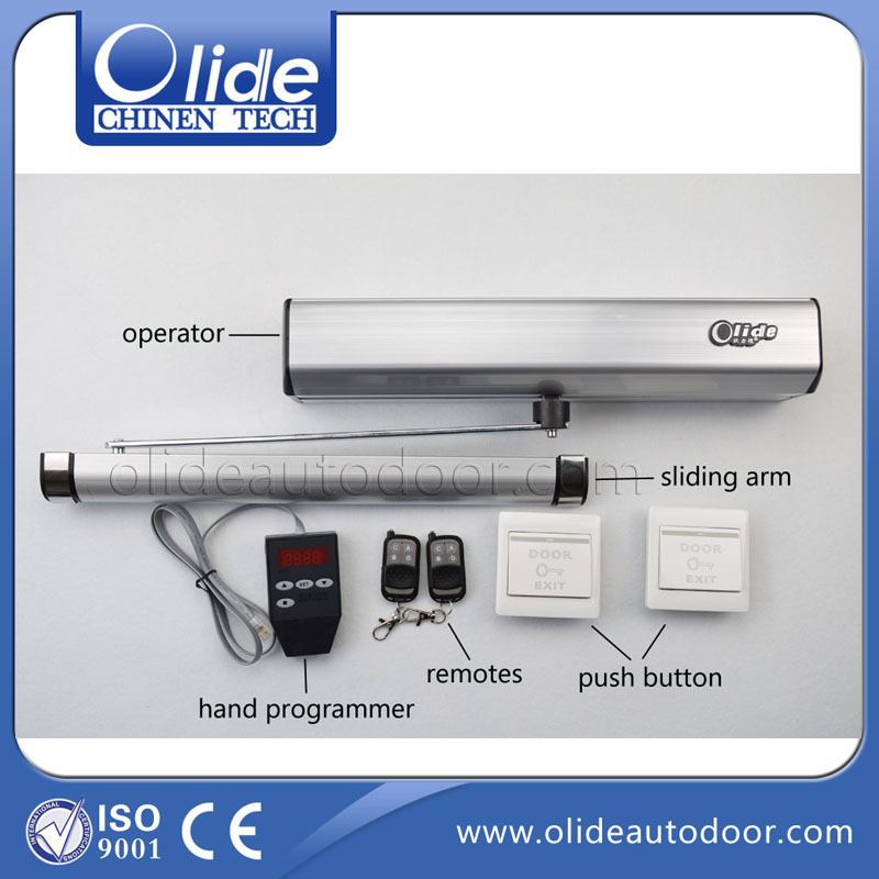 electric swing door opener, residential and commercial swing door opener 220/110v
