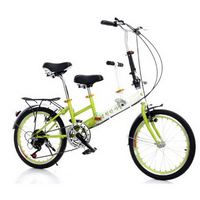 230608/Women's bike / 20 inch parent child folding bike / child mother and child car double ladies car/Rubber tires