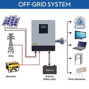 Image 2 - 1KVA Solar inverter Pure Sine Wave Hybrid Solar Inverter 12v 220v 800W Built in PWM Solar Charge Controller for Home Use