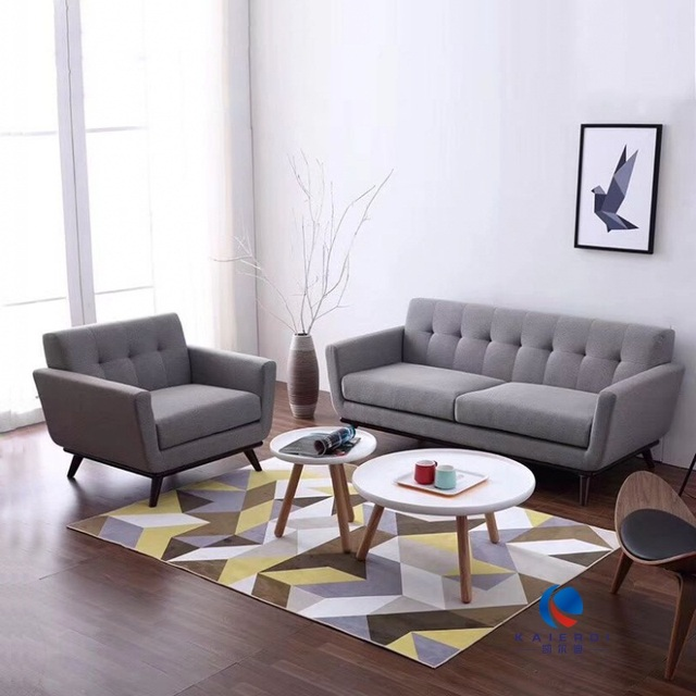 US $188.0  U BEST Inspirational Grey Modern Couch single seat Sofas and  Couches Ideas with Grey 1+3 seater -in Living Room Sofas from Furniture on  ...