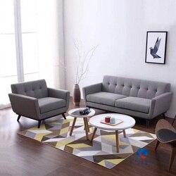 U-BEST inspirado cinza moderno sofá sofá único assento sofás e sofás idéias com cinza 1 + 3 lugares