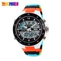 2016 venta caliente para skmei hombres deportes relojes hombre reloj 5atm buceo nado moda multifuncional digital reloj militar relojes de pulsera