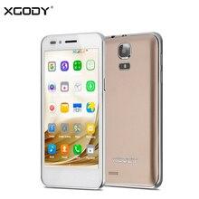 Xgody g200 android смартфон 4.5 дюймов 3 г dual sim mtk6572 dual core 512 МБ + 8 ГБ мобильного телефона 5mp wifi разблокирована сотовых телефонов celular