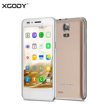 XGODY G200 Android SmartPhone 4.5 Inch 3G Dual SIM MTK6572 Dual Core 512MB+8GB Mobile Phone 5MP WiFi Unlocked Cellphones Celular