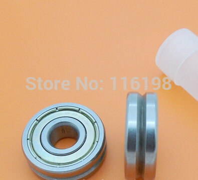 V628ZZ 628  8 x24 x8 mm  V grooved straightener guide wheel bearings  8 * 24 * 8 mm pulley bearings V groove width 1.5mm fm ul 6 200psi ductile iron di grooved x grooved os