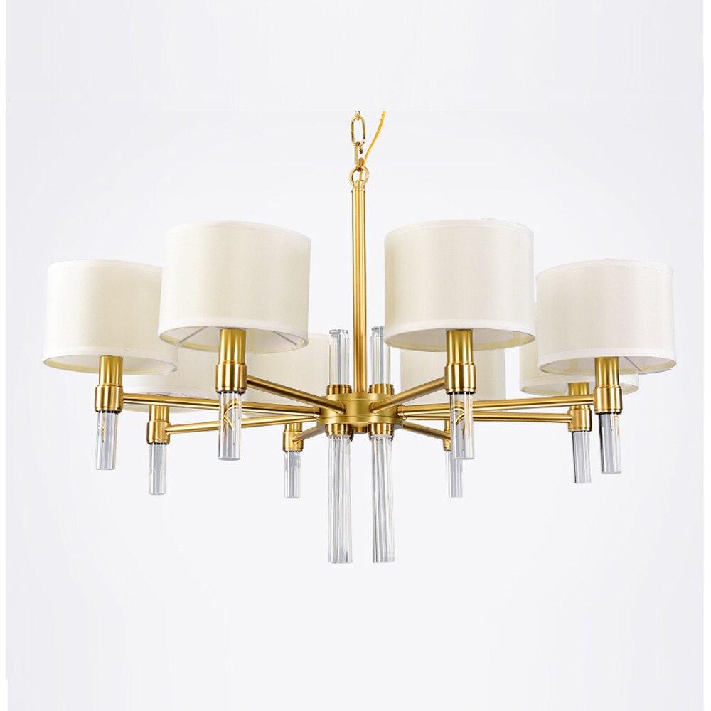 Ouro LEVOU luz iluminação lustre contemporâneo para sala de jantar sala de estar