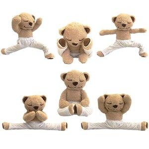 Image 5 - Yogi Bär telefon Fall Für iphone 11 Pro Max 11 XS MAX XR 8 plus 7 Niedliche Flauschige Abdeckung plüsch Fall für iphone 6s SE 5S Yoga Teddy