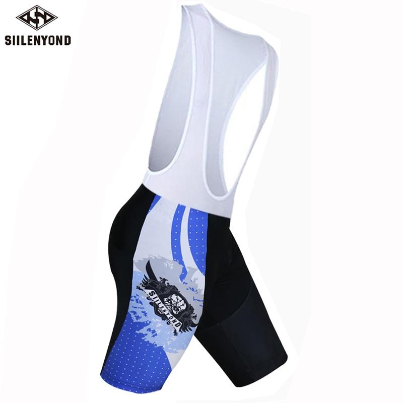 Siilenyond, мужская спортивная одежда, велосипедные шорты, мягкие, дышащие, для верховой езды, mtb, велосипедные шорты с нагрудником, анти-пот, шорты для велосипедистов mtb - Color: color 5