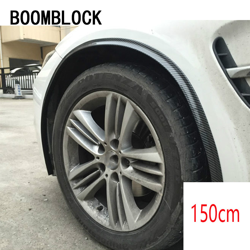 Wheel <font><b>Eyebrow</b></font>/Front Bumper/Spoilers Carbon Protect Stickers For <font><b>BMW</b></font> E36 E46 E90 E39 <font><b>E30</b></font> F30 F10 F20 X5 E53 E70 E87 E34 E92 M E93 image