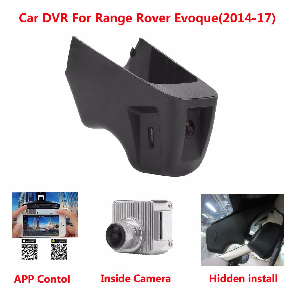 Hidden Car DVR For Range Rover Evoque(Year 2014-17) Support APP Control Novatek 96655 Use SONY 322 Sensor Camcorder Dash Camera купить range rover evoque дальний восток
