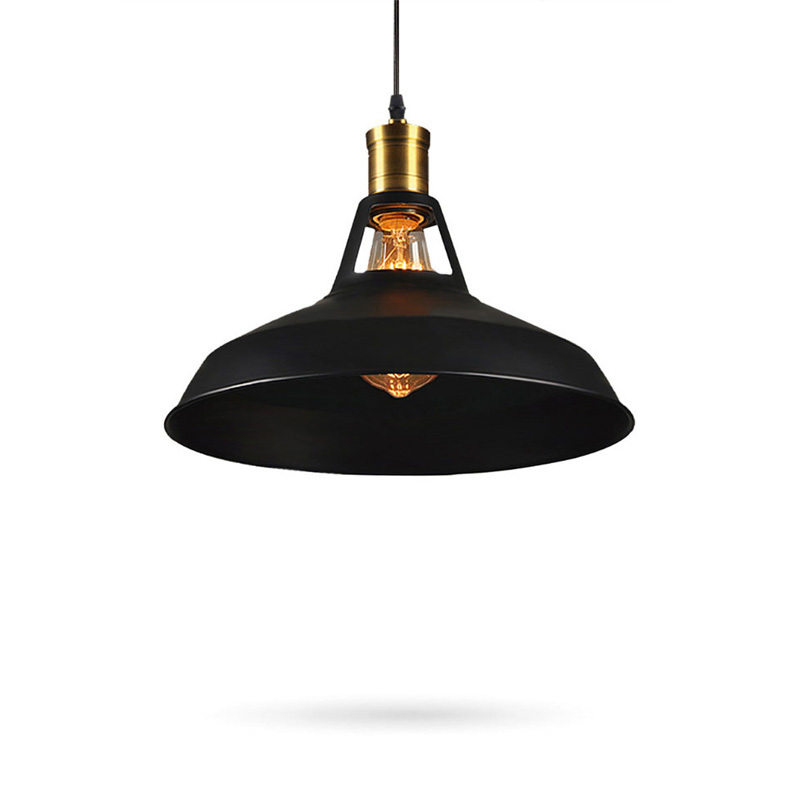 Black Vintage Pendant Lights Fixture Industrial Retro Restaurant Coffee Suspension bar hanging lamp Home Deco|retro hanging lamp|lamps restaurant|hanging lamp - title=