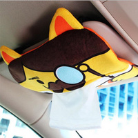 Dongzhen Auto Tissue Case Box Container Pouch Napkin Papers Holder Case Home Vehicle Tissue Holder Pouch