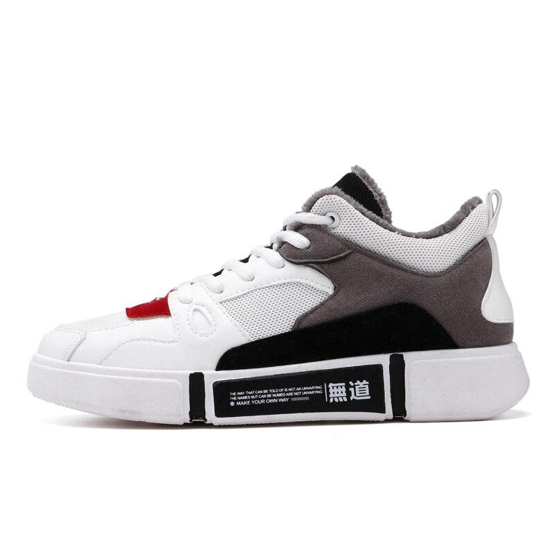 LettBao חדש חורף נעלי גברים חם גברים של נעלי גופר לנשימה סניקרס גברים שטוח עם גברים נעלי Tenis Masculino