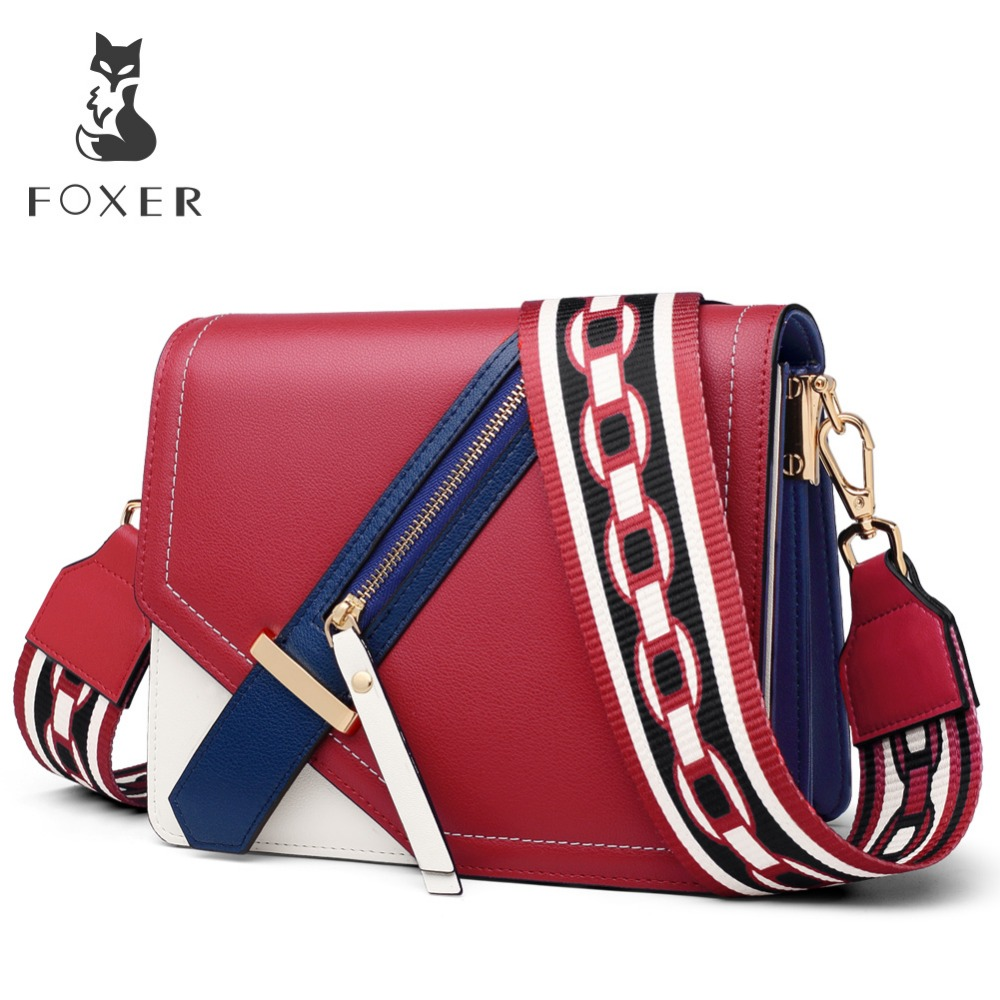 FOXER Brand 2019 New Design Female Elegant Korean version Shoulder Bag Messenger Bags Women Crossbody Bag