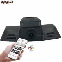 Cheapest prices BigBigRoad For Benz E Series 2015 Deluxe Model E180L Sport E260L E300 E320L C180 C200 Video Recorder Wifi DVR Dash Cam