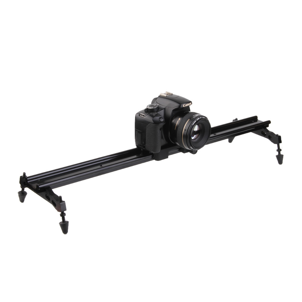 31 80cm DSLR Camera Slider Dolly Track Video Shooting Stabilizer Camcorder Stabilization ye 5d2 super mute 3 wheel truck dolly slider skater for dslr camera black