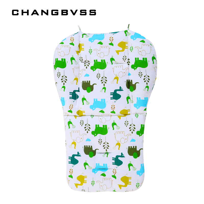 Soft Cartoon Mat Stroller,Thicken Baby Chair Cushion,Baby Stroller Pad,Car Seat Cushions,Child Carriage Mattress Travel System