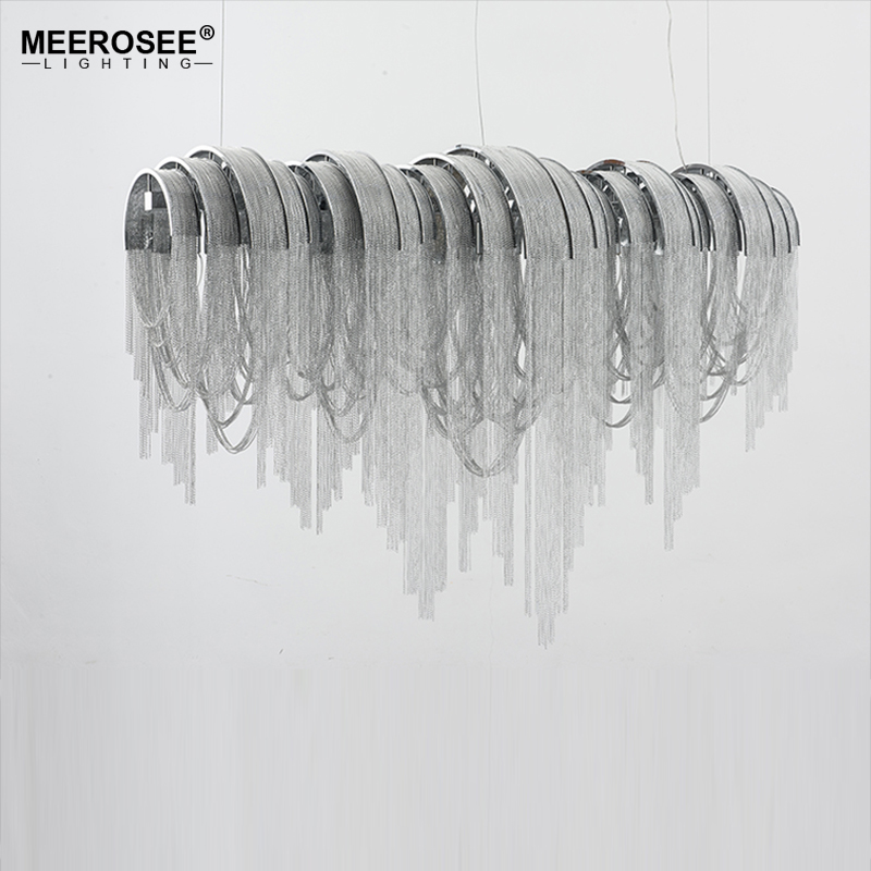 New Design French Empire Chandelier Light Aluminum Post Chain Vintage Hanging Lamp Drop Lustre for Hotel Project Home Decor