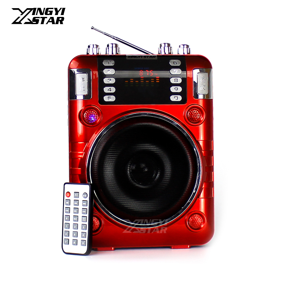 Outdoor Portable Voice Amplifier Audio Wireless Speaker Mini Radio FM Music MP3 Player USB Speakers Loudspeaker Altavoz Portatil portable professional 2 4g wireless voice amplifier megaphone booster amplifier speaker wireless microphone fm radio mp3 playing