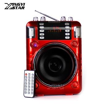 Outdoor Portable Voice Amplifier Audio Wireless Speaker Mini Radio FM Music MP3 Player USB Speakers Loudspeaker Altavoz Portatil