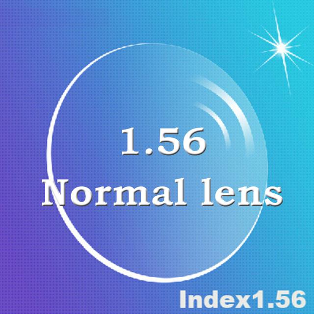 Personalizado lentes para os olhos índice 1.56 CR39 prescrição de vidro asfera lente de prescrição para miopia / hipermetropia / presbiopia 2 PCS