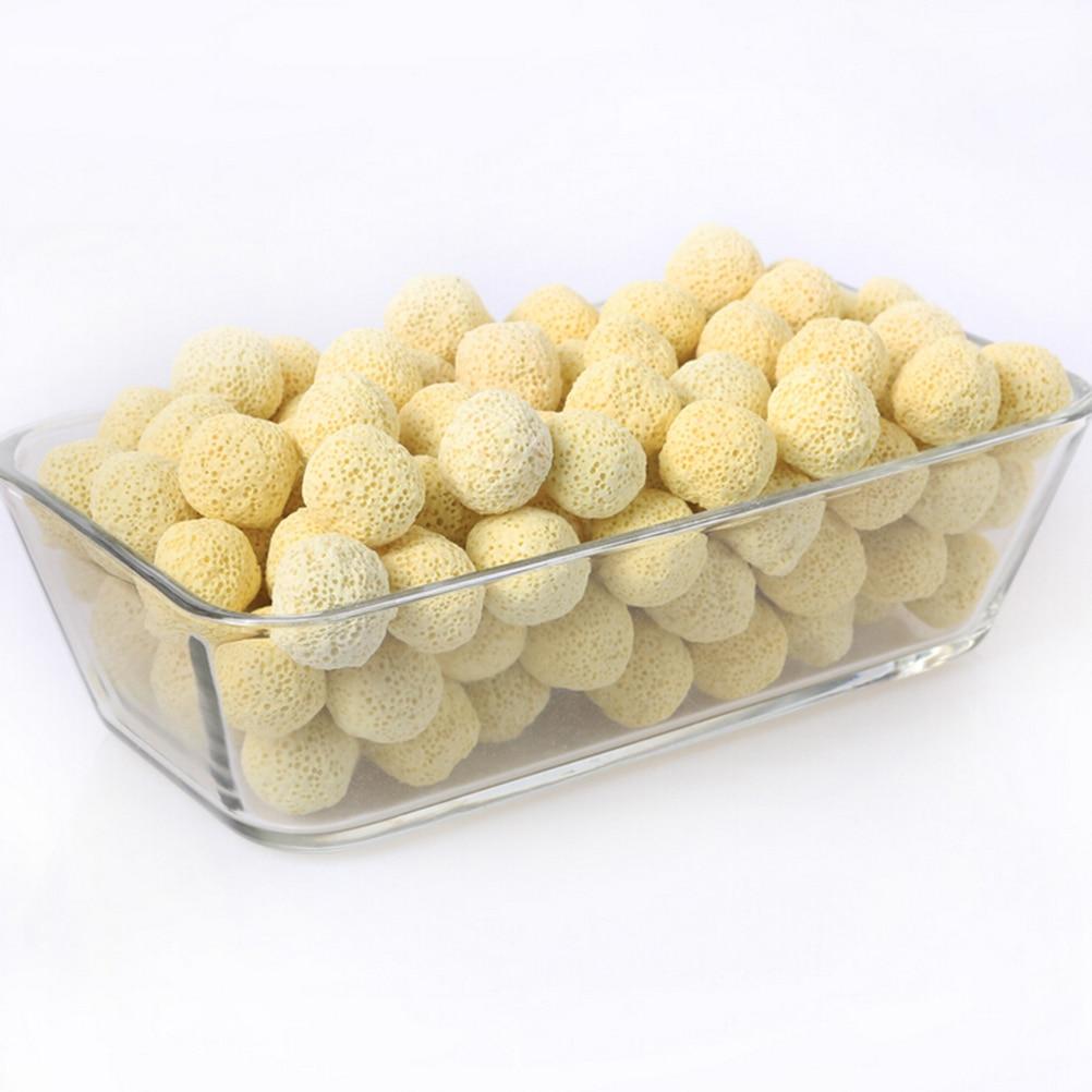 10pcs Ceramic Porous Bio Ball Filter Media Nitrifying Bacteria Buidling House Aquarium Accessories For Fish Tank Water Cleaning 4