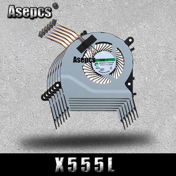 Akemy NEW CPU FAN For Asus X455LD X455CC A455 A455L K455 X555 A555L K555 W419L W519L R557L CPU COOLING FAN KSB0605HBA03 image