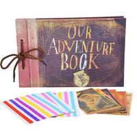 Our Adventure Book Album Photo Our & My Adventure Movie Scrapbook Album For Gifts My Adventure Book Album