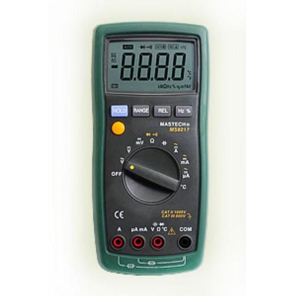 Multimètre électrique numérique Mastech MS8217