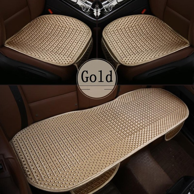 2018 Brand New Cool Sweatproof Universal Summer Ice Silk Car Seat Cover Pads