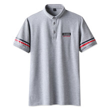 Venda quente Homem Polos Polos Homens 2018 Moda Verão dos homens Respirável  de Algodão Marca Polo Camisas Para Os Homens Designe. 0aaaa42a00349