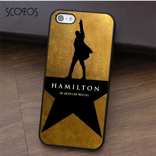 US $4 99 |SCOZOS Hamilton Broadway Musical fashion phone case cover for  iphone X 4 4s 5 5s Se 5C 6 6s 7 8 6&6s plus 7 plus 8 plus #ca265-in Fitted