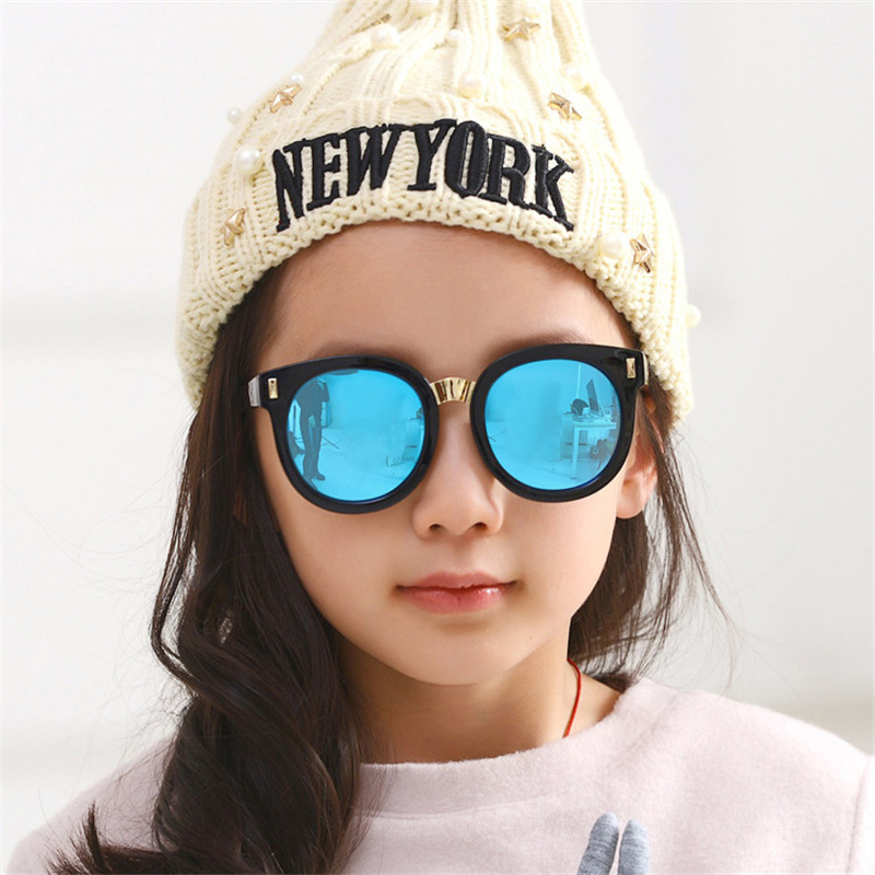 61d7092032d 2016 Brand Designer Sunglasses Children Sun Glasses Girls And Boys Fashion  UV400 Plastic Frame Sport Glasses Vintage Eyeglasses