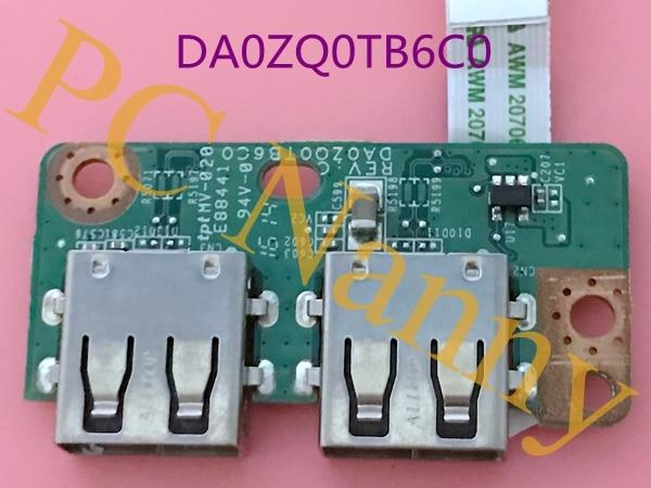 ФОТО DA0ZQ0TB6C0 FOR ACER E5-471G E5-471 USB BOARD