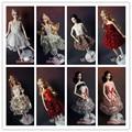 30 шт. мода ну вечеринку повседневной носки платье костюмы одежда обувь вешалки для куклы барби