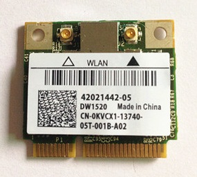 SSEA New Wireless Card for DELL <font><b>DW1520</b></font> for Broadcom BCM43224 BCM943224HMS Half MiniPCI-E Network Card 300Mbps image
