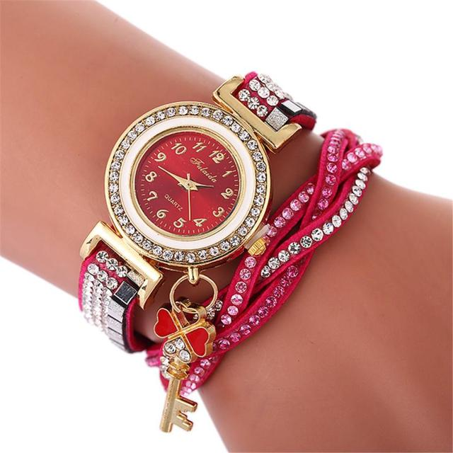 Beautiful Fashion Bracelet Watch Ladies Watch Round bracelet watch for women ladies watches 2018 luxury brand