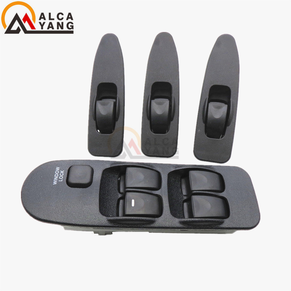 Malcayang MR740599 FRONT LEFT RIGHT ELECTRIC FOR MITSUBISHI WINDOW SWITCH LIFTER FOR MITSUBISHI CARISMA 1995-2006 MR 740 599 mr northjoe front