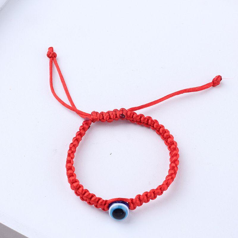 1 PC Handmade Charm  Adjustable Lucky Kabbalah Red String Hamsa Bracelets Blue Eye Amulet Jewelry