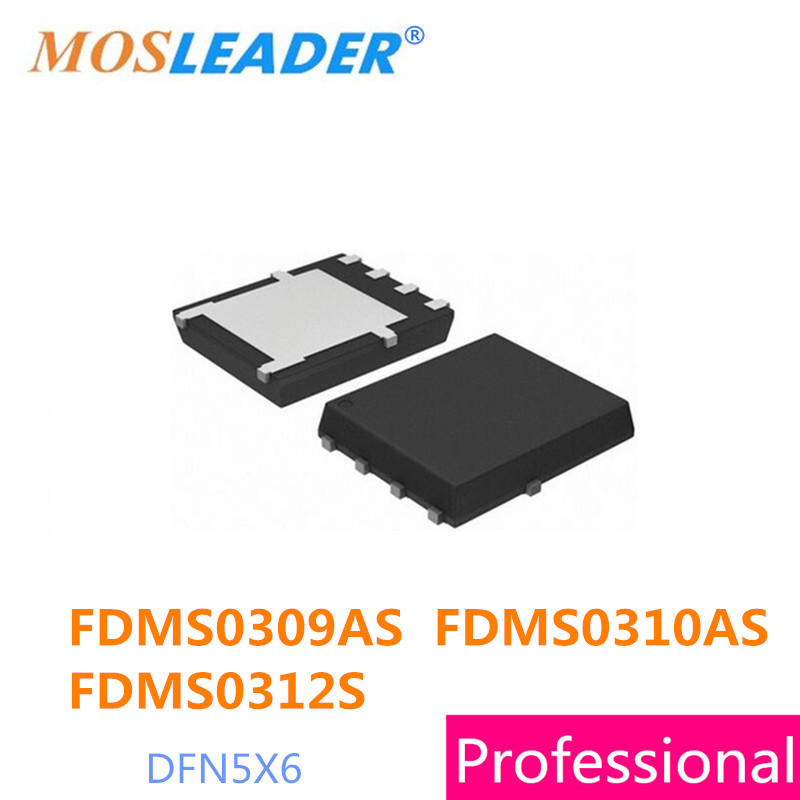 DFN5X6 50 PZ 100 PZ FDMS0309AS FDMS0310AS FDMS0312S QFN FDMS0309A FDMS0309 FDMS0310A FDMS0310 FDMS0312
