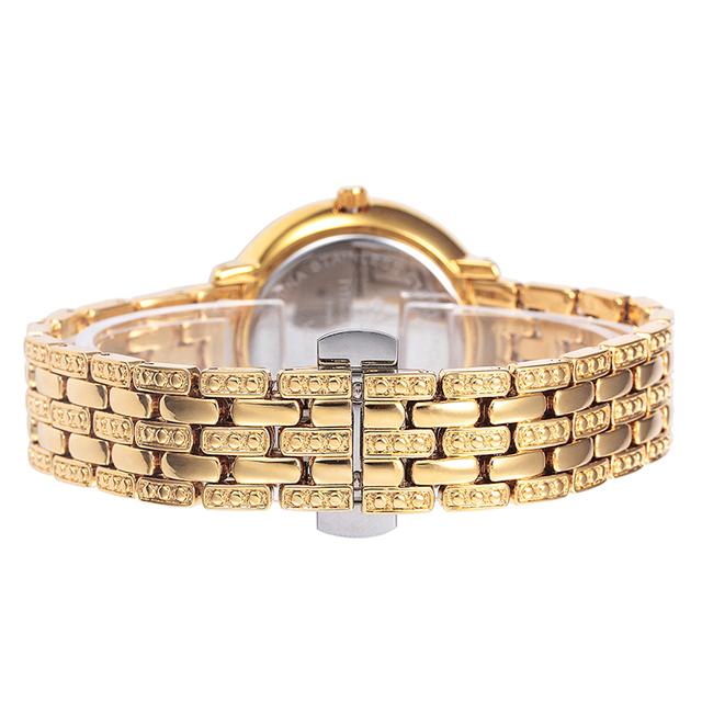 Miss Fox Gold Watches Women Rhinestone Quartz Montre Homme Marque De Luxe Female Stainless Steel Gift For Girls Bayan Kol Saati