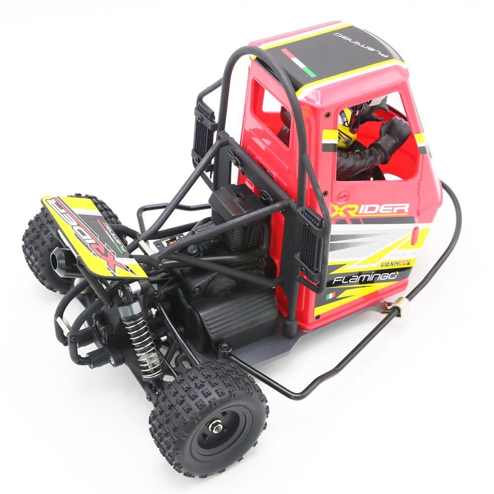 Радиоуправляемый автомобиль, Радиоуправляемый автомобиль с дистанционным управлением, 2,4G X-Rider 1/8 Piaggio Ape 1:8 2WD, Детские Drift Cars RTR с питанием от ...