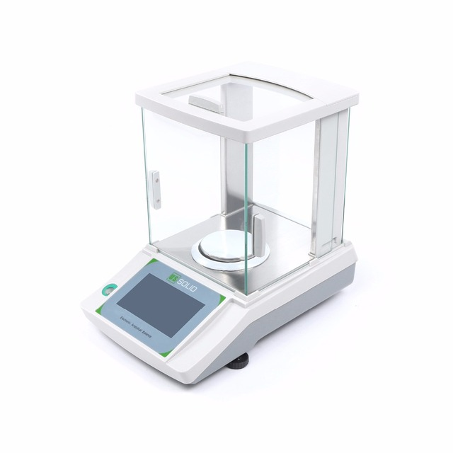 U.S. Solid 200 x 0.0001 g 0.1mg Lab Analytical Balance Digital Electronic Precision Weight Scale CE Certificated Touch Screen