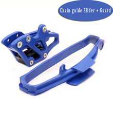 Motorcycle Chain Slider + Chian Guide Guard Kits For YAMAHA YZ125 YZ250 WR250F WR450F YZ250F YZ450F YZ WR 125 250 450 F