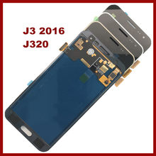 For Samsung Galaxy J3 2016 J320 J320A J320F J320M LCD Display With Touch Screen Digitizer Assembly Can Not Adjust the Brightness(China)