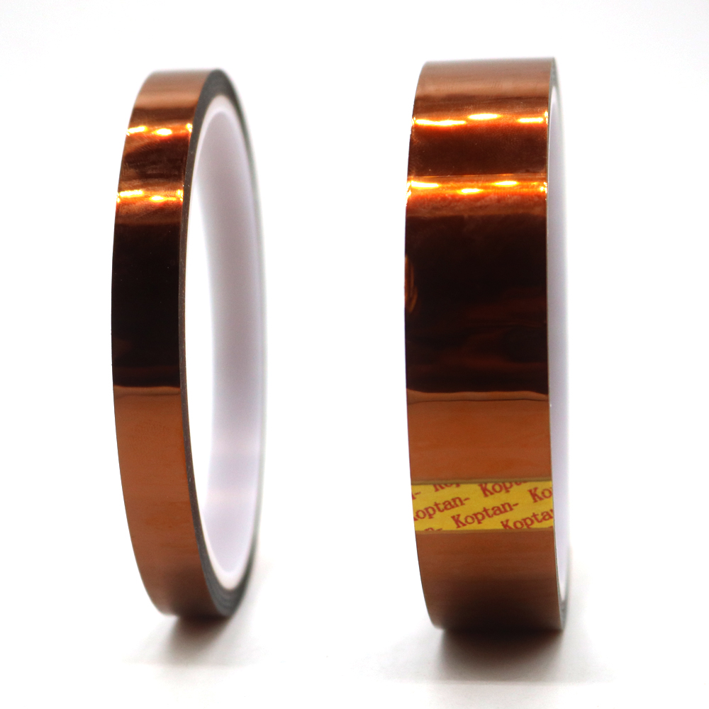 ESD Anti-static Brown High Heat Resistant Temperature Tape 1cm/2cm Wide APTON Polyimide Adhesive Silicone Tape