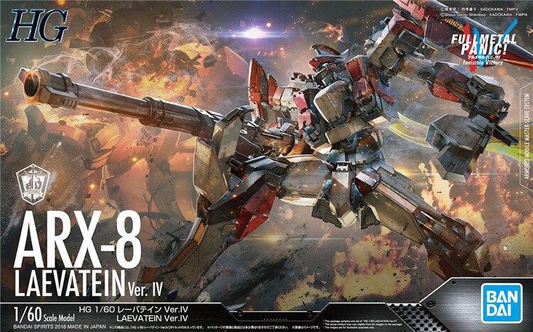 Bandai Invisibile Vittoria 1/60 FULL METAL PANIC LAEVATEIN VER. IV Gundam Assemblare Kit Modello Action Figures giocattoli Per Bambini-in Action figure e personaggi giocattolo da Giocattoli e hobby su  Gruppo 1