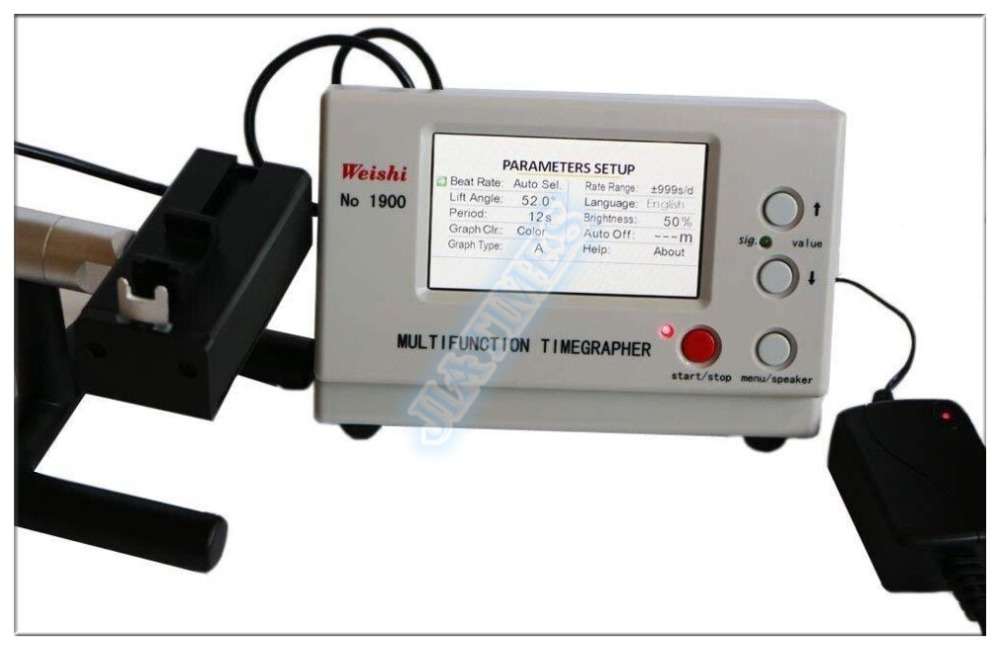 Free Shipping! Multifunction Timegrapher Professional Machenical Watch Testing Machine NO.1900