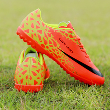 Men Soccer Shoe Cleats Kids Indoor Turf Football Shoes Boy TF Hard Court Sneakers Trainers Sports Shoes Boy Size 33-44 adidas original new arrival official goletto tf hard wearing men s football soccer shoes sports sneakers by2721 aq4302