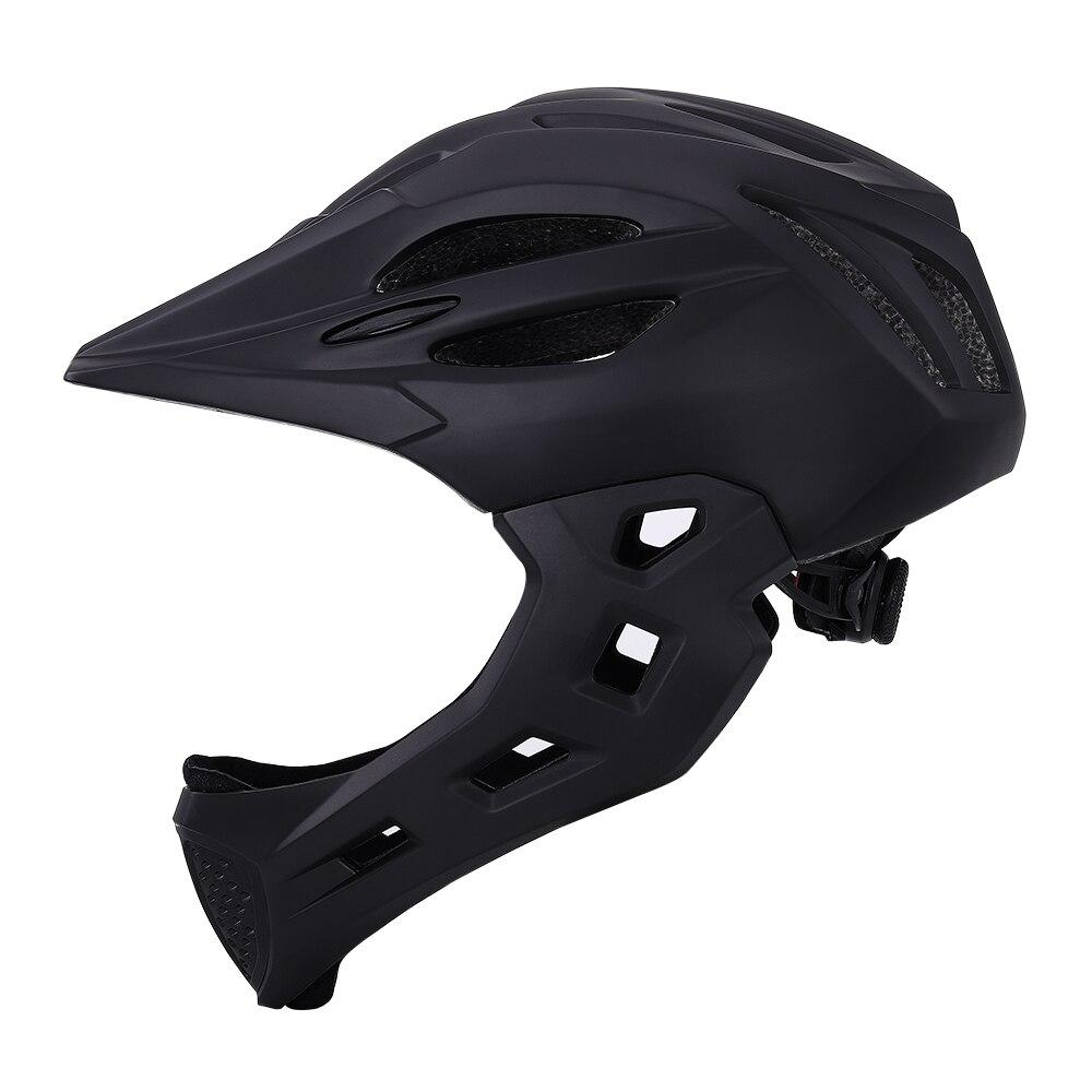 Детский велосипедный шлем Ftiier со съемной защитой Pro, детский Полнолицевой велосипед, велосипедный светодиодный горный Mtb дорожный шлем Cascos ...